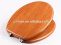Pulgadas 18 mdf chapa de madera cubierta de asiento de inodoro, mdf asiento del inodoro cubierta en la ronda/enlongated forma, precio barato mdf asiento del inodoro cubierta
