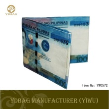 Fashion print tyvek wallet for promotion