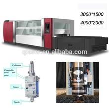 High precision carbon, stainless, aluminum metal sheet 500w, 1000W, 2000W,3000W, 4000W fiber laser cutting machine price