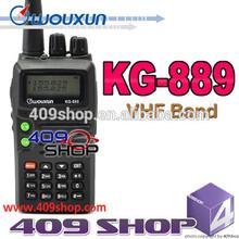 Best price Wouxun KG-889 radio 100 mile Dual band walkie talkie