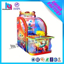 Amusement equipment electric coin operated win tickets game machine