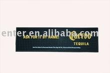 2012 new ! black rubber mat;bar mat