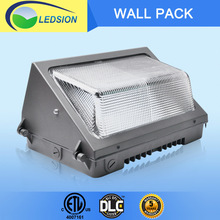Factory price IP65 waterproof outdoor led wall pack light, cETL/ETL dlc listed CREE led wall pack light