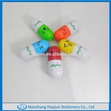2015 Cute Capsule Pill Plastic Ballpoint Pen
