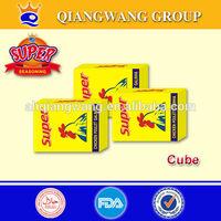 QWOK ---10g/tablet x 15tablets/bag series bouillon cube halal bouillon cube chicken ,beef ,shrimp,etc cube