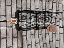 most popular New design 2015 pendant light metal cage lightings chandelier interior decor