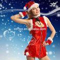 chica caliente camisón de mujer sexy traje de navidad
