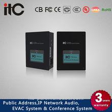 T-6705 IP LAN Network Audio Adapter IP PA System & IP Digital Amplifier