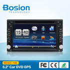 High quality 2din 6.2inch Car navigation and entertainment system build-in Radio,GPS,Bluetooth,SWC,3D UI for universal cars
