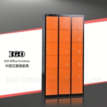 ISO Certified Luoyang LGO Custom High Quality 3 drawer mobile gym cabinet