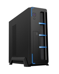 2015 slim Micro ATX,transparent side panel,PC case, USB3.0