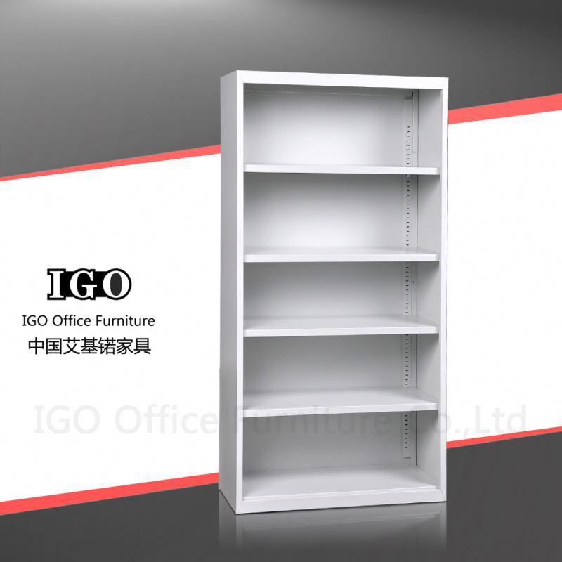 Igo-006 revista vertical , rack de armazenamento de móveis de escritório de madeira book shelf / estante