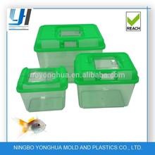 portable plastic fish tanks different sizes green