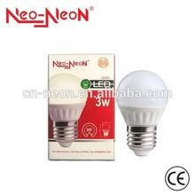 3W LED light bulbs from Heshan manufacture e27 LED lamp