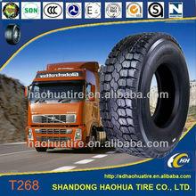 Light truck tires 8.25R20 9.00R20 10.00R20 12.00R24 FAMOUSE BRAND: THREE-A, YATAI, SHENGTAI, YATONG, SANJIA, EA GOOD, AOTELI