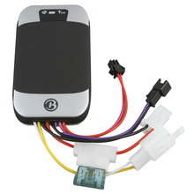 car GPS tracker 303c with multiple functions of security,positioning on platform www.gpstrackerxy.com