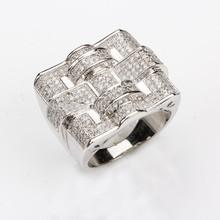 925 Sterling Silver Rings Zircon Fine Jewelry in Party
