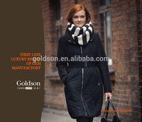 Goose Down Coat Italian Long Casual Fashion OEM Women Winter Long Coats
