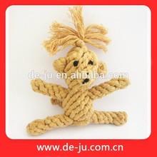 Wholesale Pet Products Dog Toy Cotton Bone Chew Rope Sleeping Dog Toy