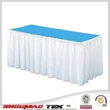 Wholesale popular meeting table skirt