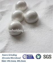 0.1-0.2mm Zirconia grinding bead/ball, Yttria stabilized zirconia bead, Grinding media ball used for zircoia milling machine
