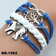 New product ideas handmade jewelry patterns ifinity leather bracelet jewelry