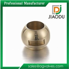 DN15 brass Ball for water ball Valve hollow polished chrome plated