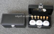Promotion golf kit set /Design your golf ball's gift ---golf Case gift set