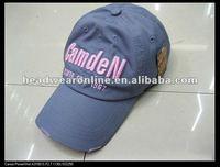 2014 korean fashion caps with embroidery logos