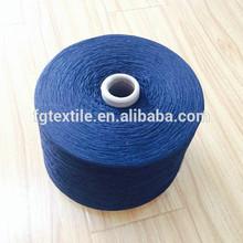 7s socks yarn 70% cotton 30% polyester navy color