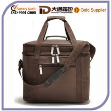 2015 Customized Large 2-layers Food Lunch Insulated Cooler Bag
