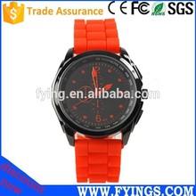 2014 new product Fashion Silicone wrist vogue lady watch