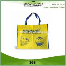 100% RPET bag,recycle PET tote grocery bag, grocery tote bag