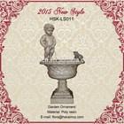 European style garden decoration, garden water fountain, garden ornament