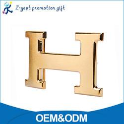 Competitive price Fashion Men Zinc Alloy Standard Alphabet H Metal Belt Buckle Manufacturers