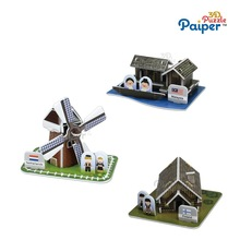 DIY mini gift toy windmills miniature houses for sale