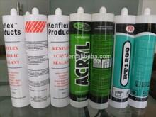 Building Using White Colour Caulking Sealing Gum
