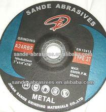 "4"" Super Flexible Grinding Wheel For Stone/Glass"