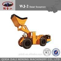 Mining underground Scooptram Diesel LHD WJ-2