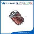 Super 4.80mm esmaltado fio de alumínio, electric fio de código de cor, geradores de energia eólica, tamiya