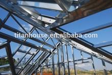 luxury prefab light steel structure villa