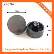 high quality fashion metal fabric covered buttons