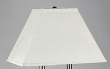 Hotel lamp shades/Round Soft Tailored Lampshade, Shantung, Off-white zhongshan factory