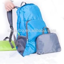 travel folding ripstop nylon backpack