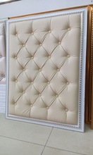China Factory High Quality Leather Wall Panel for Interior Decoration