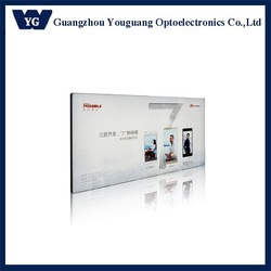 fabric frameless advertising display LED light box textile backlit light box frame