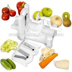 Kitchen Fruit and Vegetable 3 in 1 spiral slicer