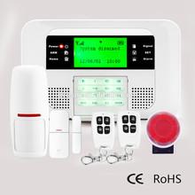 2015 new product gsm/pstn dual network home security burglar alarm system-G40B
