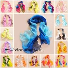 Big Size Brand Designed Trendy Warm Soft Gradual Lady desigual scarf Accessories Chiffon scarves Women Gift