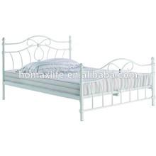 modern design metal metal king size round bed